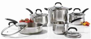 Stainless Steel Cookware Set 10PCS Kitchenware pictures & photos