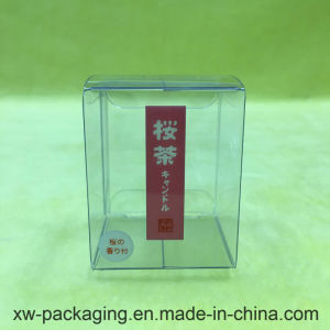 Custom Clear Plastic Packaging Box for Tea Product
