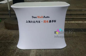 Portable Promotion Table Aluminum Counter Tradeshow Event Exhibition Display Banner