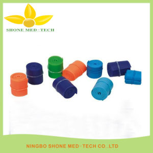 Disposable Silicone or TPE Tourniquet for Hospital pictures & photos