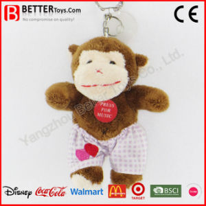 Cheap Stuffed Plush Animal Monkey Keyrings pictures & photos