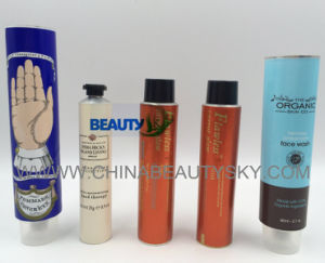 Body Care Packaging Hand Cream Toothpaste Labeling Aluminum Collapsible Tube pictures & photos
