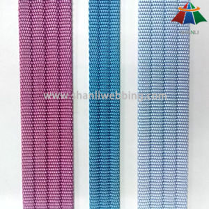 15mm 25mm Pit Grooved Nylon Webbing with Core pictures & photos