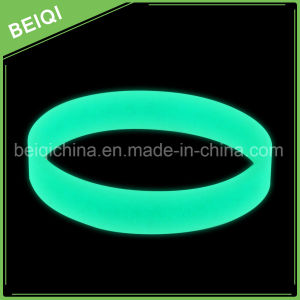 Promotion Luminous Silicone Wrist Bands /Slicone Glow in Dark Bracelet pictures & photos