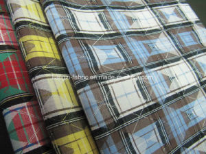 Cotton Yarn Dyed Jacquard Check Fabric pictures & photos