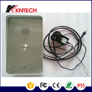 IP Door Intercom Bell Button Panel Knzd-45 Emergency Call Box pictures & photos