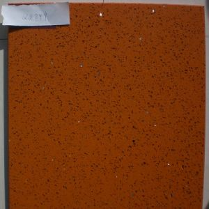 Worktops/Wall Material/Red/Orange Artificial Quartz Stone (QG249) for Countertops/Table Tops/Vanity Tops