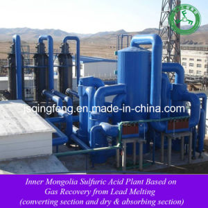 Sulfuric Acid Plant Based on Gas Recovery From Lead Melting pictures & photos