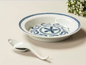 Melamine Double Decal Bowl/Soup Bowl/Dinnerware (DC12148) pictures & photos