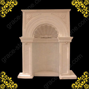 Big Size Stone Marble Fireplace pictures & photos