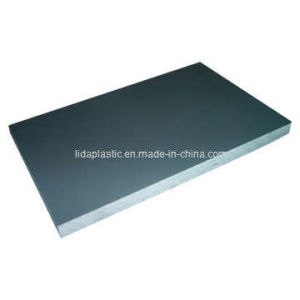 Extruded Glossy & Lead Free PVC Grey Sheet pictures & photos