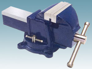 Heavy Duty Type Bench Vise (swivel base without anvil)