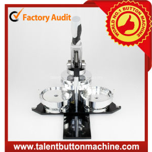 Easy Operation Button Badge Making Machine Button Maker with Interchangeable Molds (SDHP-N4) pictures & photos