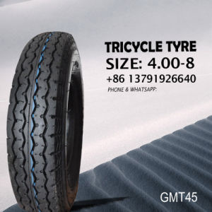 Tricycle / Motorcycle Tube and Tyre 4.00-8 Tvs Pattern