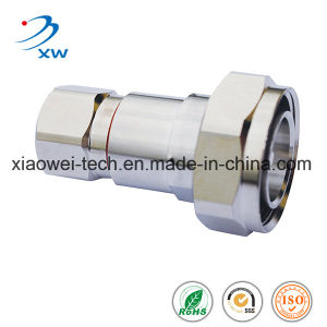 "DIN Female Straight Connector for 1-5/8"" Feeder Cable"