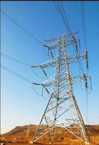 Angle Steel Electric Power Tranmsmission Steel Tower