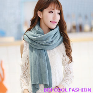 New Design Hot Selling Viscose Scarf (Cyx-102)