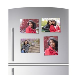 Custom Design Popular Souvenir Tourist Photo Fridge Magnet Sticker