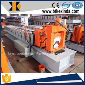 Kxd Galvanized Steel Roof Ridge Cap Roll Forming Machine