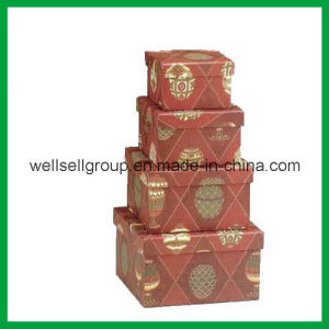 Colorful Gift Box (four size) / Paper Box / Packaging Box for Promotional Gift pictures & photos