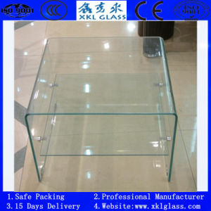 Curved Tempered Glass for Furniture