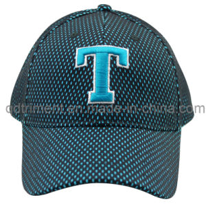 Constructed Embroidery Mesh Cover Twill Golf Baseball Cap (TMB8152) pictures & photos