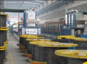 Steel Wire Heat Treatment Continuous Line