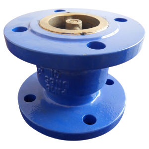 Cast Iron Globe Silent Check Valve with Flange End
