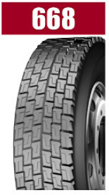 Heavy Load Brand Radial Truck Tire 668