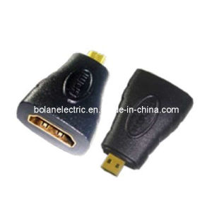 HDMI a Female to Micro Male Converter pictures & photos
