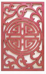 Carved MDF Decorative Grille Panel (WY-46) pictures & photos