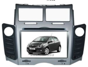 Car DVD With GPS Navigation for Toyota Yaris