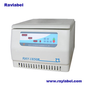 Table Top High Speed Refrigerated Centrifuge for Lab Equipments (RAY-1850R) pictures & photos