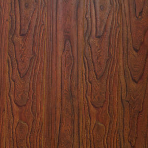 V Goove at Four Side Paint Synchronized Vein Laminate Flooring 7710 pictures & photos