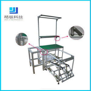 Aluminum Frame Pipe Workbench Aluminum Pipe Rack