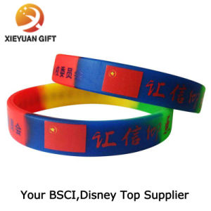 Printed Wristband with Custom Logo pictures & photos