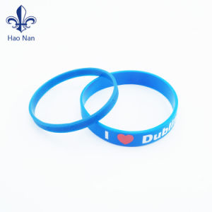 Cheap Custom Colorful Cool Silicone Wristband for Promotion Gift pictures & photos