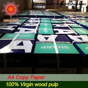 100% Wood Pulp Office Supplies A4 Copy Paper (CP006) pictures & photos