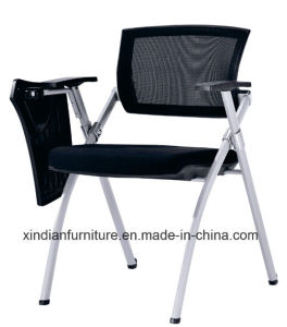 Modern Training School Desk Chair With Mesh Back