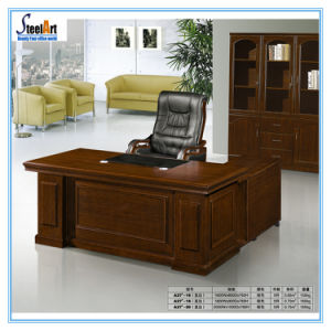 Office Furniture Modern Design Executive L Shape Wooden Table Fec A27
