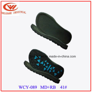 Wear Resistant Summer Sandals Outsole EVA Rubber Material pictures & photos