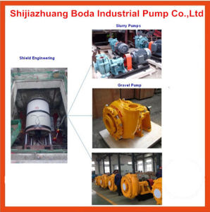 Pumps for Tunnel Shield and Pipe-Jacking Projects Slurry Pump pictures & photos