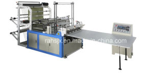 Computer Double Deck Bottom Sealing Bag Making Machine with Auto Conveyor Belt pictures & photos
