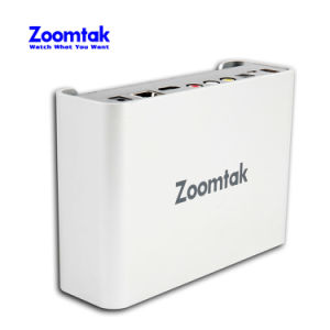New Zoomtak T8u Metal Case Amlogic S905 4k Kodi 16.1 Support SATA HDD Android Smart TV Box pictures & photos