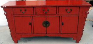Furniture Antique Reproduction Cupboard (LWC250) pictures & photos