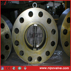 Forging Body Lug Type Dual Plate Swing Check Valve pictures & photos
