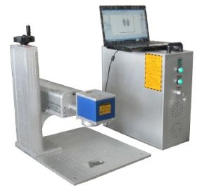 Cheap Portable Mini Fiber Laser Marking Machine for Pigeon Ring pictures & photos