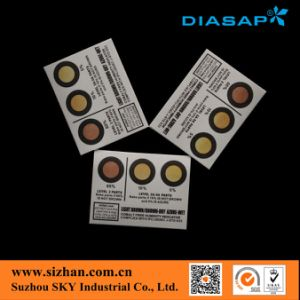 China Supply Common Humidity Indicator Card pictures & photos