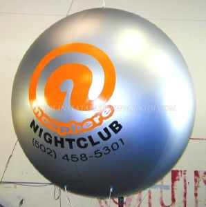 Advertising Custom Shape Helium Balloon, Inflatable Helium Zeppelin, Inflatable Round LED Helium Balloon pictures & photos