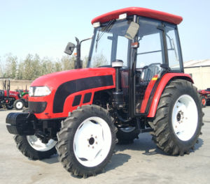 Foton Lovol 75HP 4WD Tractor with Rops/Sunshade CE/Coc Approved pictures & photos